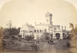 Rear view of Mr Brett's house at Hosor, near Bangalore.